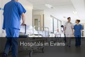 Hospitals in Evans