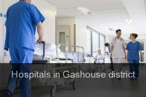 Hospitals in Gashouse district
