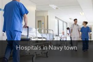 Hospitals in Navy town