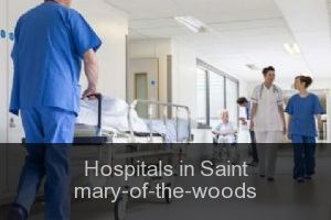 Hospitals in Saint mary-of-the-woods