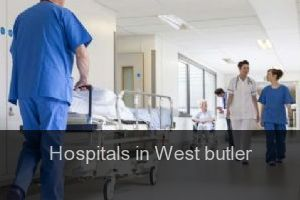 Hospitals in West butler