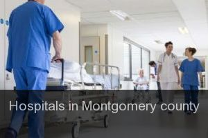 Hospitals in Montgomery county