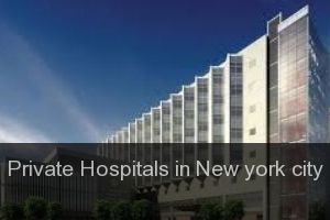 Private Hospitals in New york city