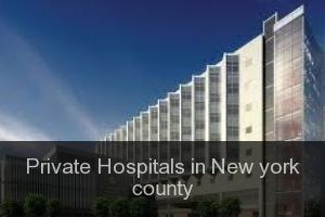 Private Hospitals in New york county