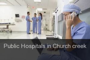 Public Hospitals in Church creek