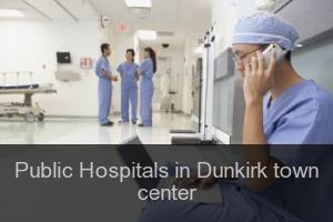 Public Hospitals in Dunkirk town center