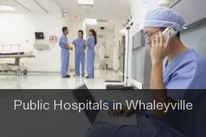 Public Hospitals in Whaleyville